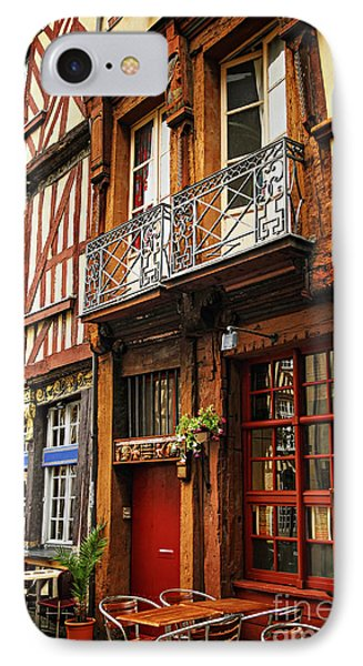 Street In Rennes IPhone Case by Elena Elisseeva