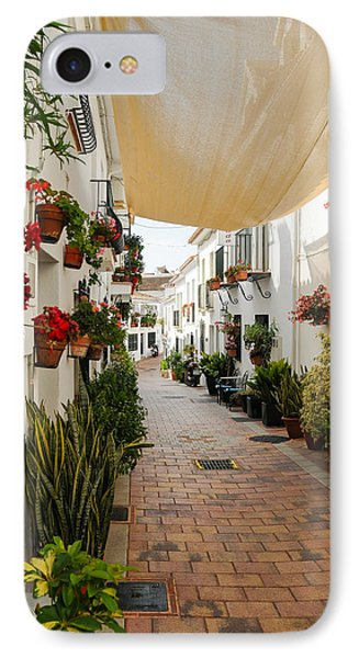 Street Of Benalmadena  IPhone Case