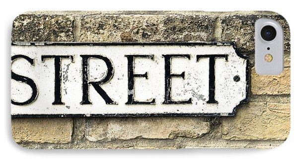 Street Sign Phone Case by Tom Gowanlock