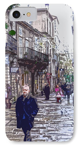 Streets And People IPhone Case by Andrew Middleton