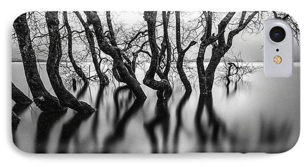 Submerging Trees IPhone Case by John Farnan