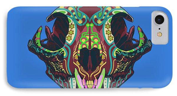 IPhone Case featuring the digital art Sugar Lynx  by Nelson Dedos Garcia