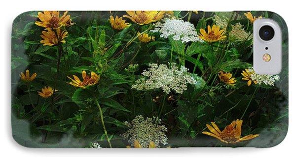 Summer Bouquet IPhone Case by Kathie Chicoine