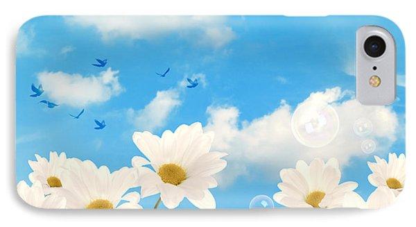 Summer Daisies Phone Case by Amanda Elwell