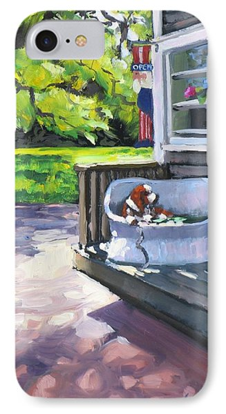 Summer Day On The Cape IPhone Case by Laura Lee Zanghetti