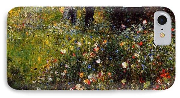 Summer Landscape IPhone Case by Pierre Auguste  Renoir