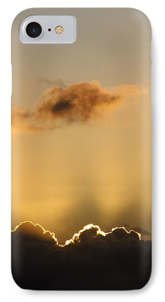 Sun Rays And Dark Clouds IPhone Case