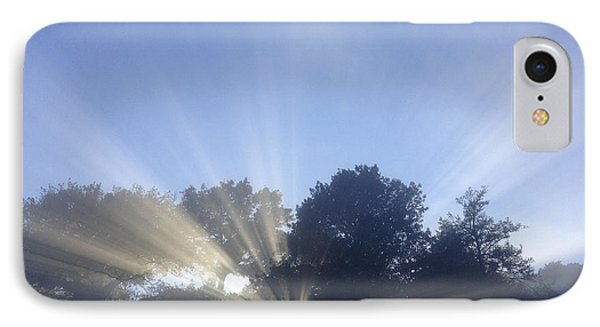 Sun Rays Phone Case by Les Cunliffe