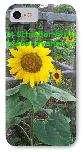 Sunflower IPhone Case by Eric  Schiabor