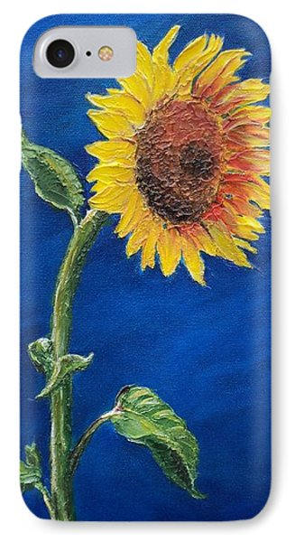 Sunflower In The Light IPhone Case