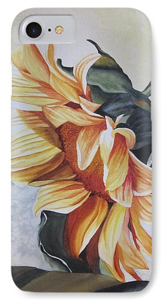 Sunflower IPhone Case by Teresa Beyer