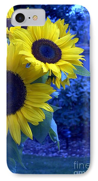 IPhone Case featuring the photograph Sunflowers by Arlene Carmel