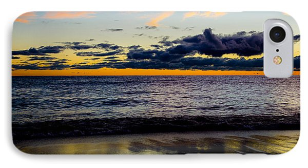 IPhone Case featuring the photograph Sunrise Lake Michigan September 14th 2013 001 by Michael  Bennett