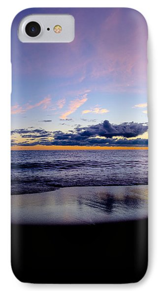 IPhone Case featuring the photograph Sunrise Lake Michigan September 14th 2013 004 by Michael  Bennett