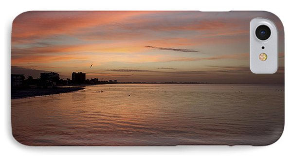 IPhone Case featuring the photograph Sunrise Over Fort Myers Beach Photo by Meg Rousher
