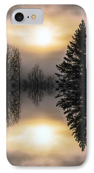 Sunrise-sundown IPhone Case by Sherman Perry