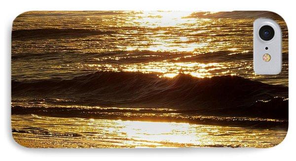 Sunrise Waves IPhone Case by Nikki McInnes