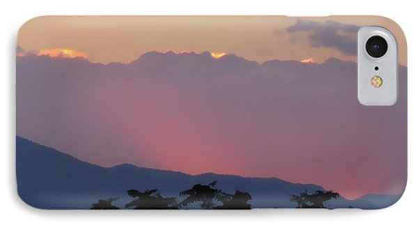 IPhone Case featuring the photograph Sunset 2 by Ze  Di