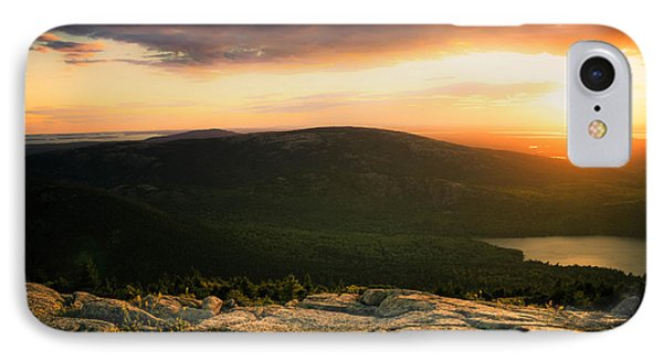 Sunset Acadia National Park Maine IPhone Case by Trace Kittrell