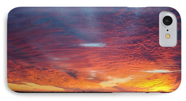 Sunset At Cafe Coconut Cove 5 IPhone Case by Kay Gilley
