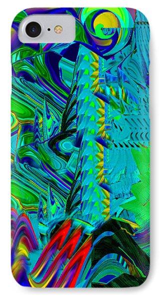 Sunset Blue IPhone Case