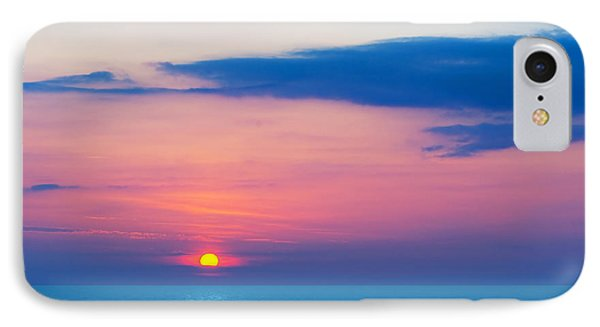 Sunset By The Sea Phone Case by Michal Bednarek