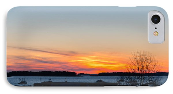 Sunset Down East Maine  IPhone Case