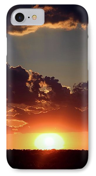 IPhone Case featuring the photograph Sunset by Elizabeth Budd