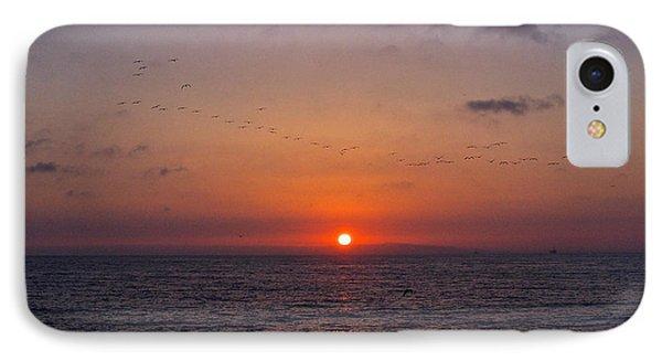 Sunset Flight IPhone Case by Rita Mueller