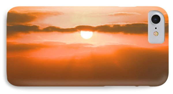 Sunset Phone Case by Gregor  Gatti