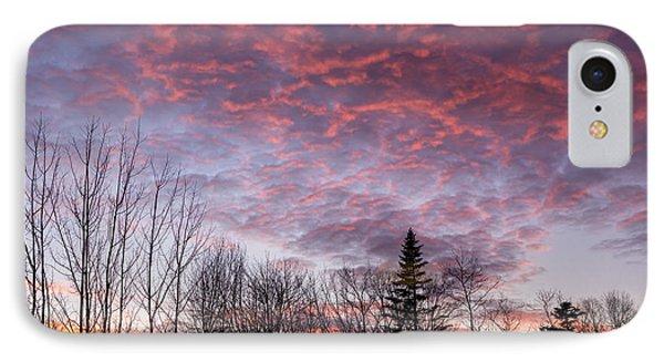Sunset Jonesport Maine  IPhone Case by Trace Kittrell