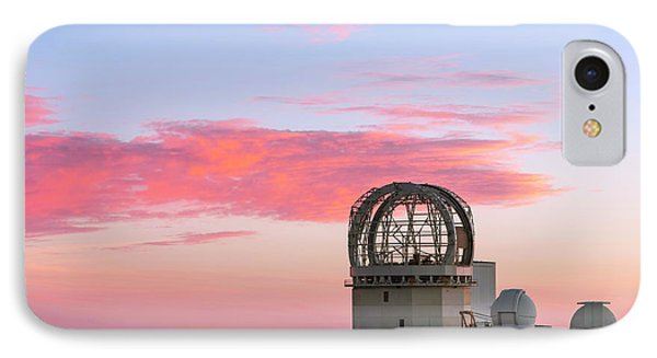 Sunset Over Haleakala Observatories IPhone Case by Babak Tafreshi