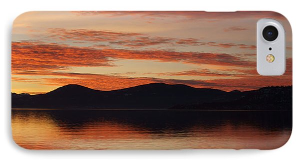 Sunset Over Lake Tahoe Phone Case by Benjamin Reed