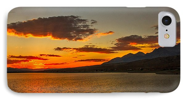 Sunset Over Mackay Reservoir IPhone Case