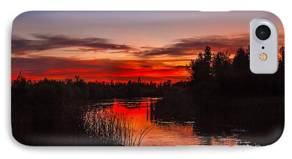 Sunset Reflections IPhone Case by Robert Bales