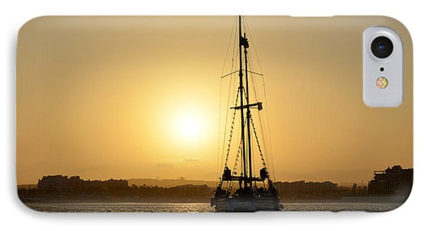 IPhone Case featuring the photograph Sunset Sailing In Cabo by Christine Till