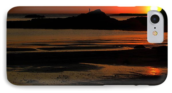Sunset Silhouettes IPhone Case by Suzy Piatt