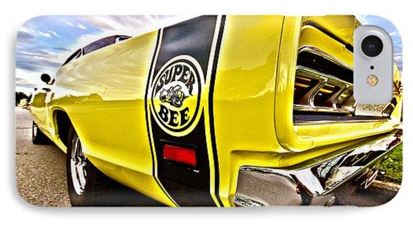 Super Close Super Bee  IPhone Case by Gordon Dean II