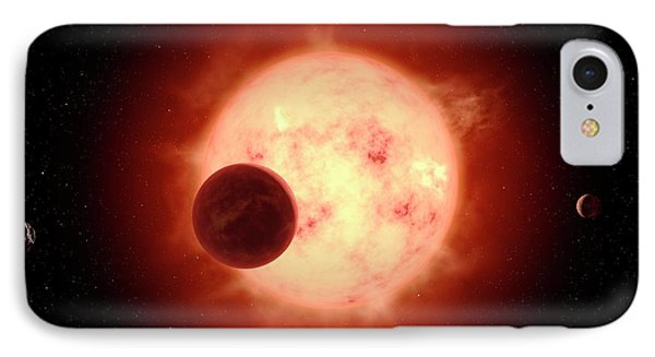Super Earth Alien Planet IPhone Case by Joe Tucciarone