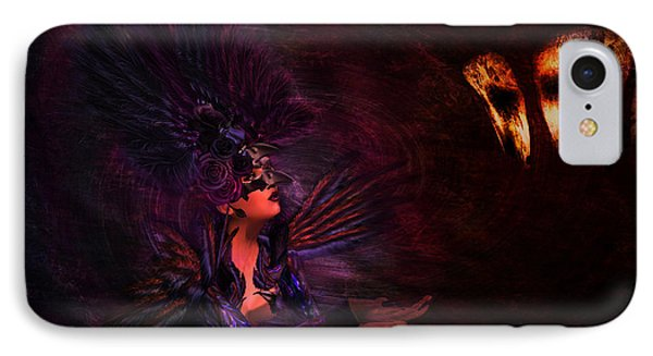 IPhone Case featuring the digital art Supplication 06301301 - By Kylie Sabra by Kylie Sabra