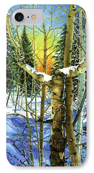 Supplication-psalm 28 Verse 2 IPhone Case by Barbara Jewell