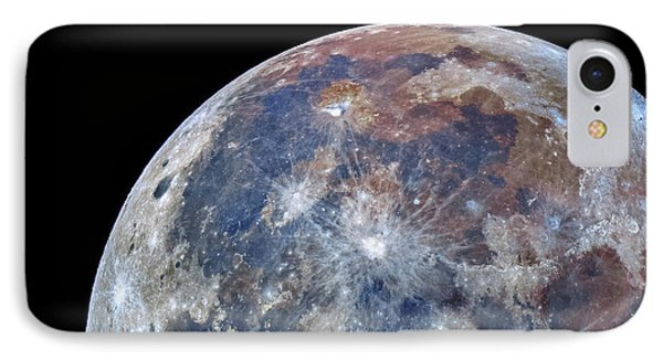 Surface Of The Moon IPhone Case by Babak Tafreshi
