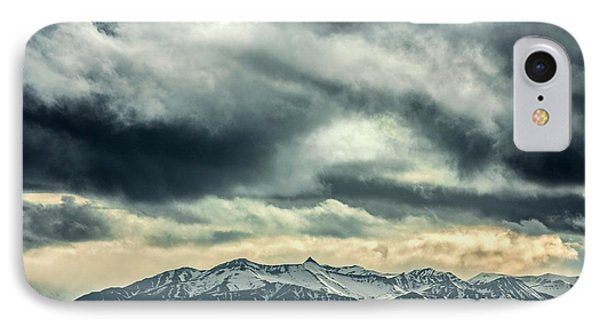 Svalbard Mountains IPhone Case by Paul Williams