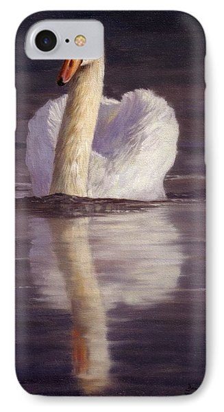 Swan IPhone Case by David Stribbling
