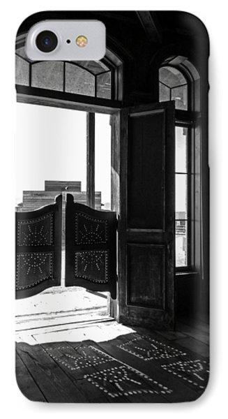 Swinging Doors IPhone Case by Lucinda Walter