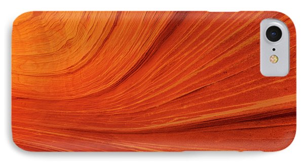 Swirling Sandstone At The Wave IPhone Case by Chuck Haney