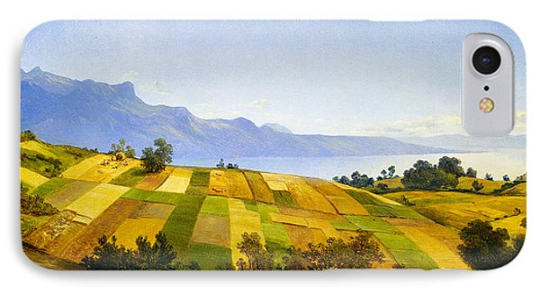 Swiss Landscape IPhone Case by Alexandre Calame
