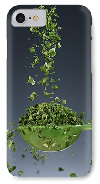1 Tablespoon Chives Phone Case by Steve Gadomski