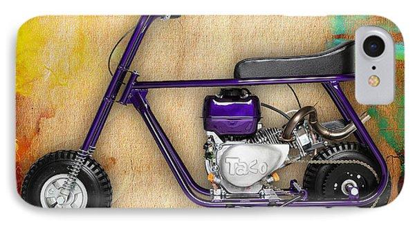 Taco 22 Mini Bike IPhone Case by Marvin Blaine
