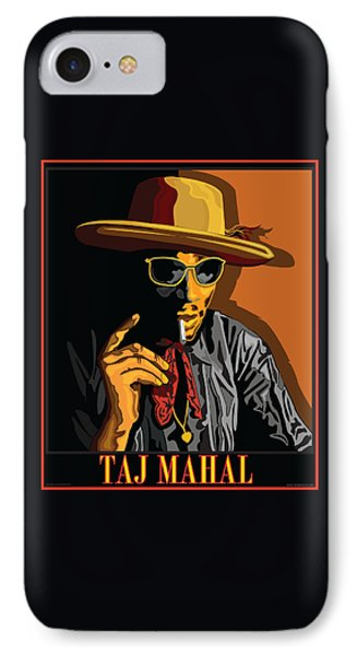 Taj Mahal Phone Case by Larry Butterworth